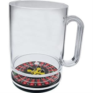 Roulette - 16 Oz Compartment Mug, Casino Theme