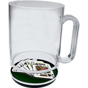 Royal Flush - 16 Oz Compartment Mug, Casino Theme