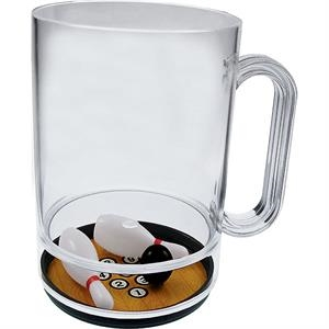 Pick It Up - 16 Oz Compartment Mug, Sports Theme