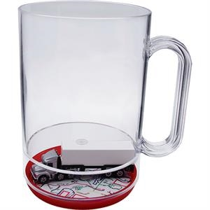 Semi-full - 16 Oz Compartment Mug, Travel Theme