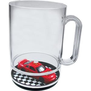 Pit Stop - 16 Oz Compartment Mug, Travel Theme