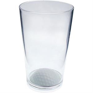 "Golf - Sport Pint Made Of Clear Styrene, 3.375"" X 5.375"""