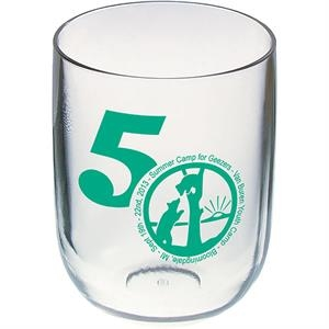 "Stemless Wine Glass, 3.5""w X 4.375""h. 12 Oz"