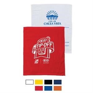"Printed-colors - Hemmed Terry Velour Bar Mop Towel, 15"" X 18"""