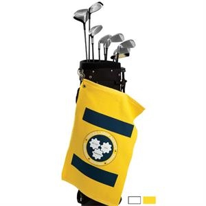 Printed-colors - Printed Made In Usa Brushed Terry Velour Golf Towel