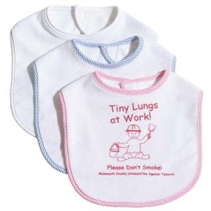 Knit Terry Baby Bib