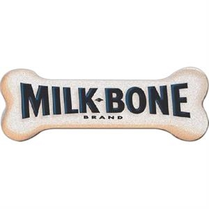 One Color Imprint - Dog Bone - Emery Board, Custom Shapes To Meet Any Budget