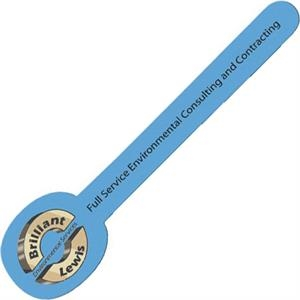 One Color Imprint - Round - Horizontal Emery Board