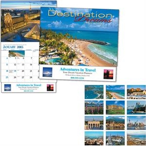 Destination Dreams (r) - Thirteen Month Appointment Calendar With Colorful Photos From Vacation Destinations