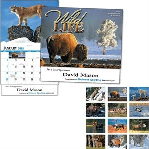 Thirteen Month Appointment Calendar Featuring Wildlife In Their Natural Habitat