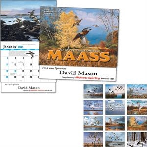 David Maass - Thirteen Month Appointment Calendar With Full-color Insets And Descriptions