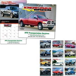 Dream Wheels - Thirteen Month Appointment Calendar With Truck And Suv Photos