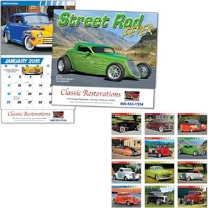 Street Rod Fever - Thirteen Month Appointment Calendar Features Thirteen Hot Street/custom Rods