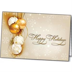 Shining Holiday - Holiday Greeting Card