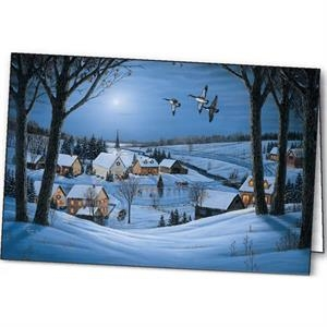 Silent Night - Holiday Greeting Card
