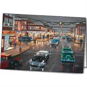 Main Street 'tis The Season - Holiday Greeting Card