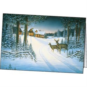 Northern Retreat - Holiday Greeting Card