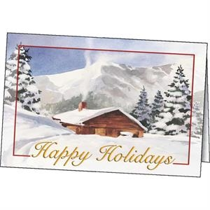 Winter Comfort - Holiday Greeting Card