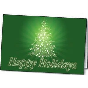 Sparkling Holiday - Holiday Greeting Card