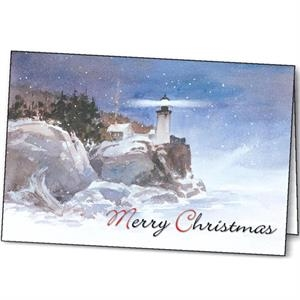 Winter Beacon - Holiday Greeting Card