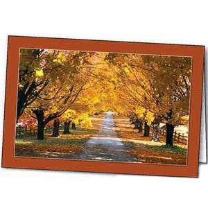 Autumn's Radiance - Special Occasion Card