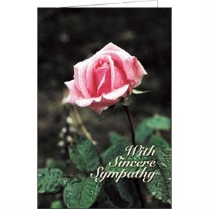 With Sincere Sympathy - Special Occasion Card