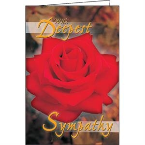 With Deepest Sympathy - Special Occasion Card