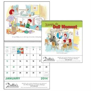 Spiral, 13-month 2014 Calendar With Cartoons Depicting The Joys Of Raising Children