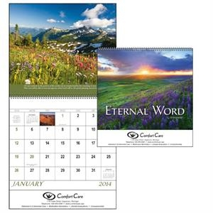 Spiral, 12-month 2015 Calendar With Verses From The Bible