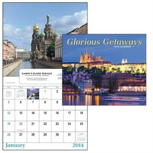 13-month Scenic Window 2015 Calendar With Exotic Locations From Around The World