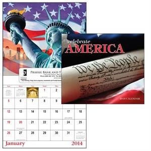 13-month Window 2015 Calendar Filled With Patriotic Spirit