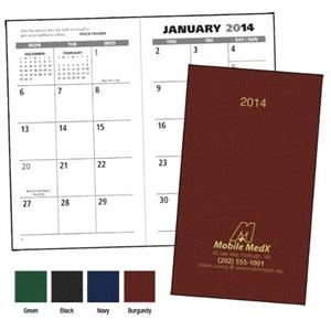 2015 Value Monthly Pocket Planner With Spacious, Vertical Monthly Grid