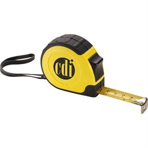 Workmate (tm) - Abs Plastic, 16' Retractable Tape Measure With Metal Tape In Inches And Metric