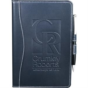 Hampton (r) - Ultrahyde Junior Writing Pad. Has Business Card Holder