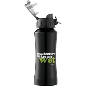 Nitro - Aluminum 18 Oz Bottle With Plastic Flip-top Lid