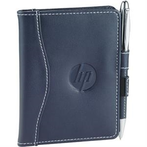 Hampton (r) - Notebook Jotter With Interior Business Card Pocket And Writing Pad