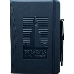 Journalbooks (r) Pedova (tm) - Pocket Bound Journal With Elastic Pen Loop. Includes 80 Sheets Of Lined Paper
