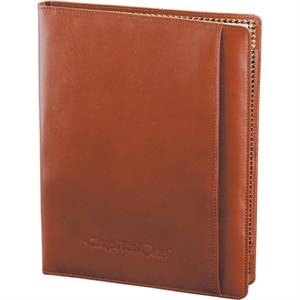Cutter & Buck (r) - Leather Writing Pad With Several Pockets For Cards And Notes. Writing Pad Included
