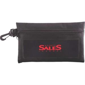 View-all Utility Pouch With Clip