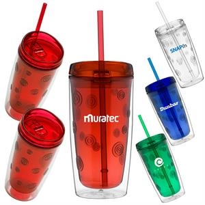 Cyclone - 16 Oz. Double Wall Acrylic Tumbler