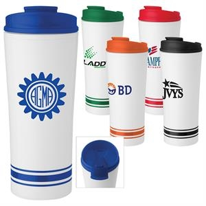 Tira - 16 Oz. Tumbler With Stripe Design
