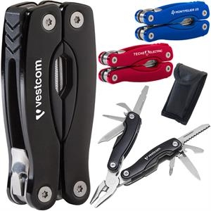Gripper - Multi-tool With Stainless Steel Body And Rugged Aluminum Case With Anodized Finish