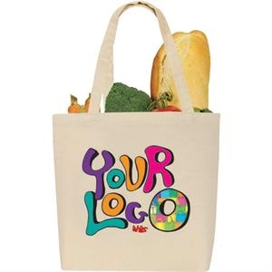 Egreen - Promotional Canvas Tote Ii: 10 Oz 100 Percent Raw Cotton Canvas