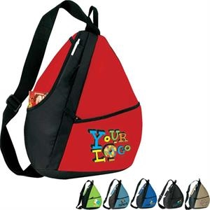 "Elite (r) - Sling Backpack. Poly 600d. Approximate Size: 14"" X 18"" X 5.5"""
