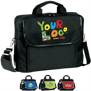 "Cross (r) - Brief Bag. Poly 600d Plus 300d Ripstop Pu. Approximate Size: 15.25"" X 12.25"" X 4"""