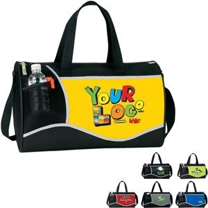 "Cross (r) - Sport Duffle Bag. Poly 600d Plus 300d Ripstop Pu. Approximate Size: 17"" X 10"" X 10"""