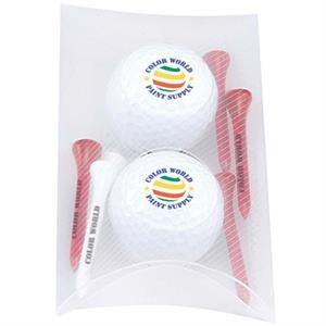 2 Ball Pillow Pack- Titleist (R) DT(R) TruSoft