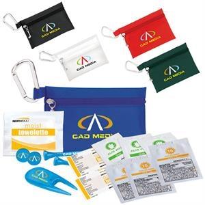 "Golfer's Sun Protection Kit - 2-3/4\"" Tee"