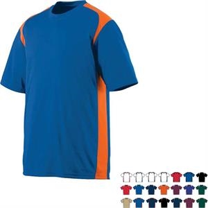 Gameday - S- X L - 100% Polyester Performance Crew With Set-in Sleeves. Sold Blank