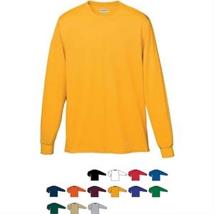 Youth Wicking Long Sleeve T-shirt. Sold Blank